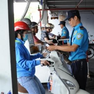 Dịch vụ bảo vệ giữ xe – Dịch vụ bảo vệ An Ninh Yuki